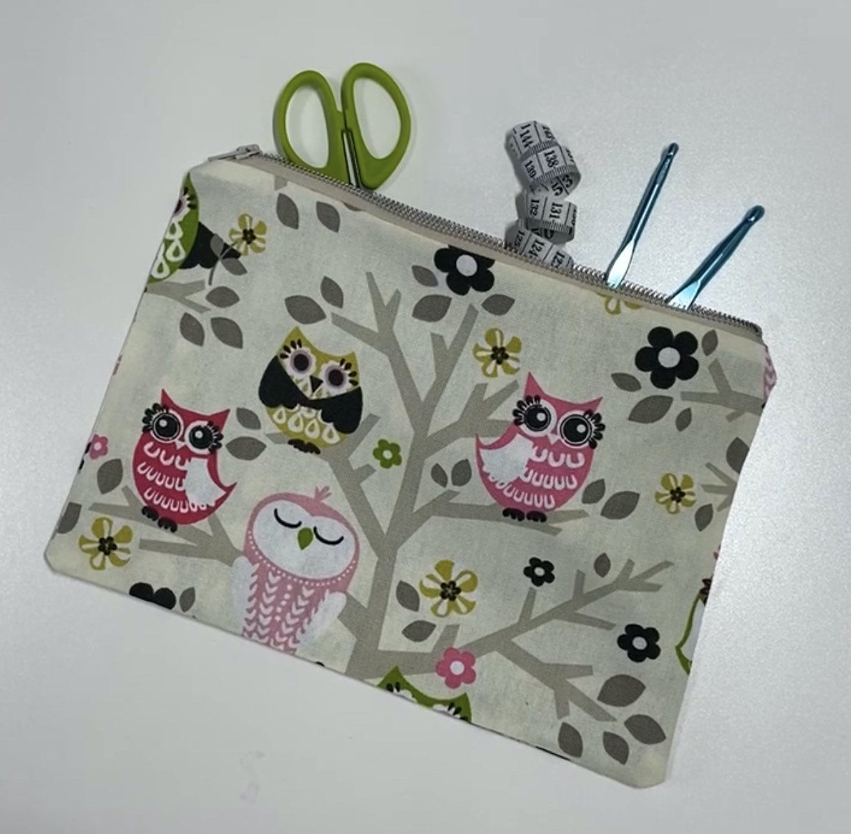 Easy Canvas Zipper Pouch